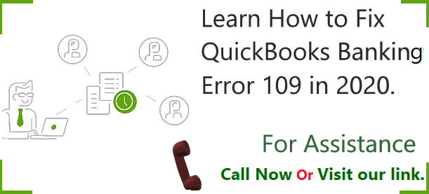 QuickBooks Banking Error 109 - Just Accounting